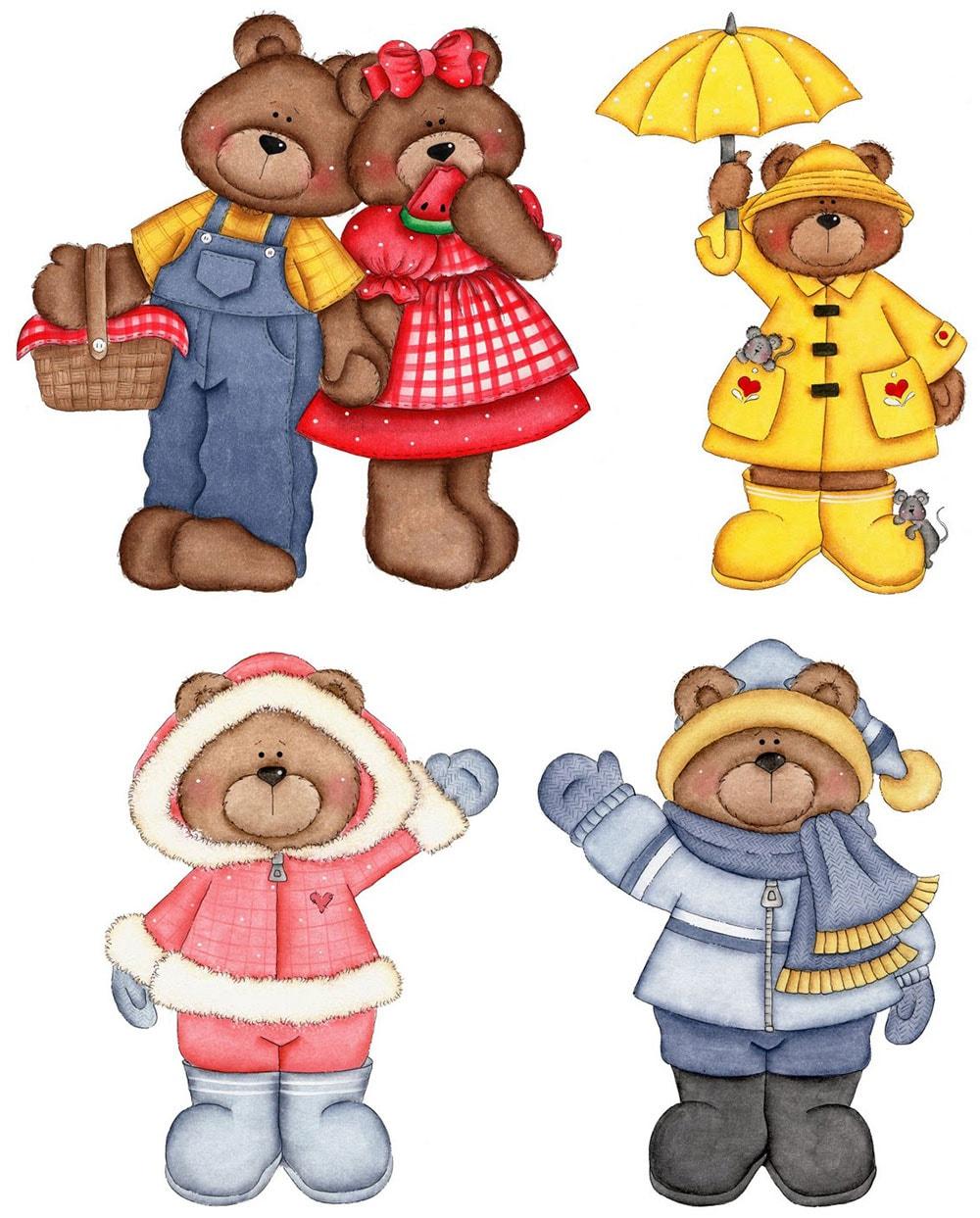 Çocuk odaları için hayvanlı dekupaj resimleri
