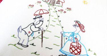 Sap işi Bebek Battaniyesi Yapımı
