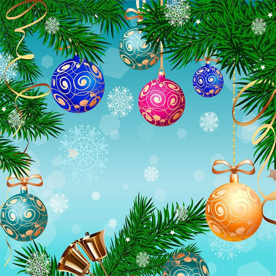 yeni yıl temalı dekupaj resimleri