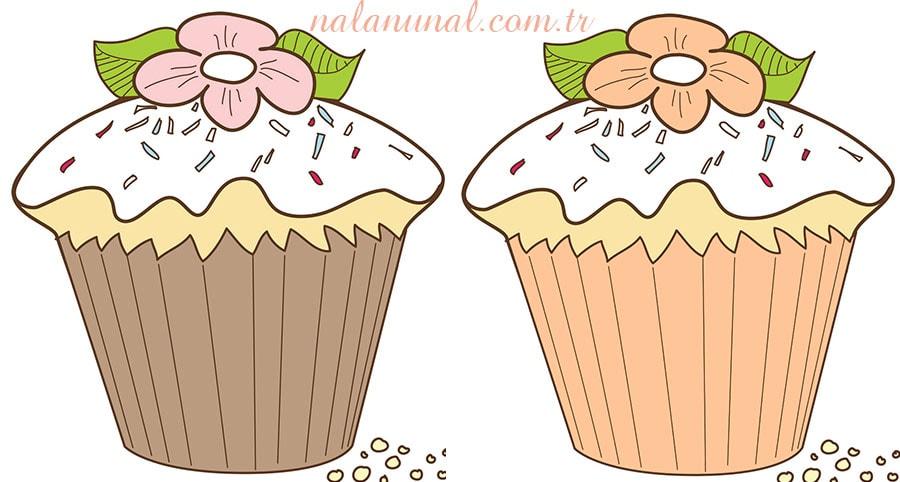 Dekupaj Için Cupcake Resimleri Mutfak Temalı Resimler