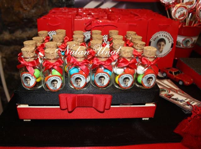 Mcqueen konsepti hediyelik şişeler