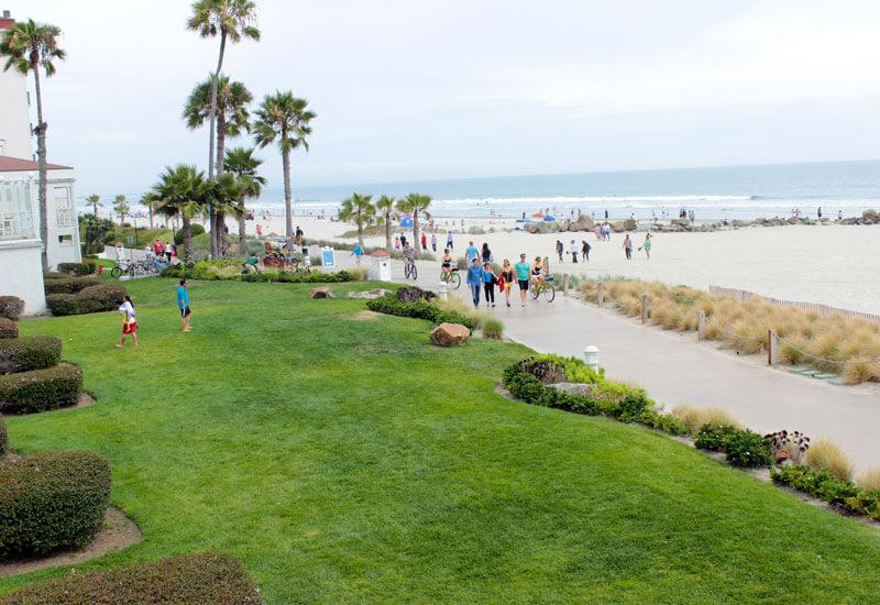 California gezisi - Pasifik okyanusu sahili