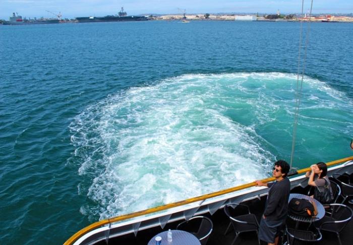 Coronado adasına vapurla ulaşım tavsiyesi
