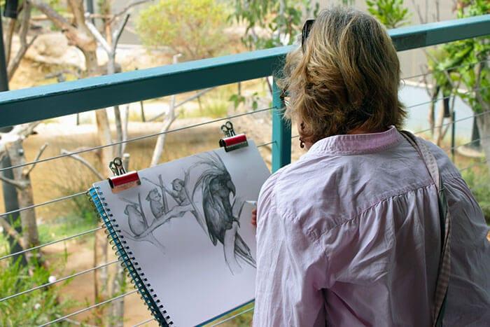 Doğada resim yapanlar san diego