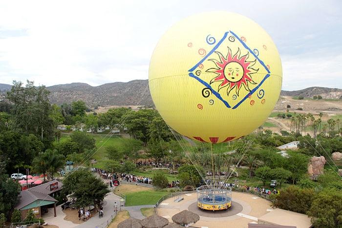 Balon turu san diego safari park - San diego'da gezilecek yerler