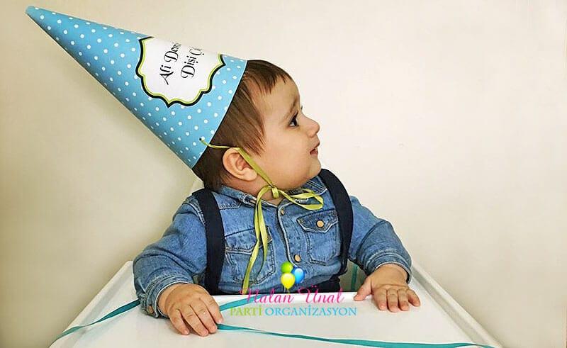 Erkek bebek diş buğdayı organizasyon konssepti