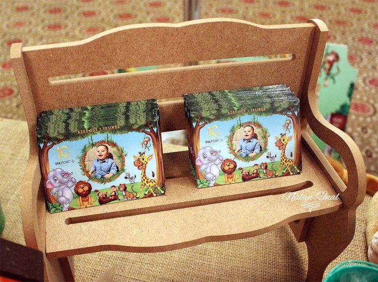 Orman temalı hediyelik magnetler